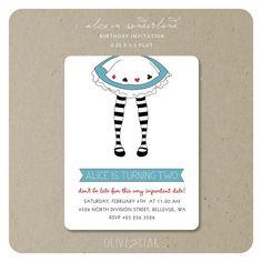 alice in wonderland tea party custom birthday invitation digital file you print 5x7 1200 via etsy kids party ideas pinterest custom