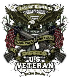 US Veteran It Can Not Be Inherited Shirt $17.00