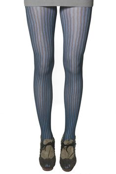 Elegant Tights made of Nylon One Size fits most 60 Denier Available in Navy blue and Burgundy red Pantyhose Fashion, Fashion Tights, Pantyhose Lovers, Striped Tights, Stocking Tights, Leggings, Fall Trends, Navy Stripes, Hosiery