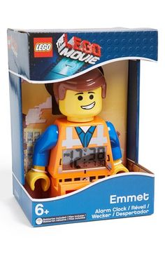 LEGO® 'The LEGO Movie - Emmet' Alarm Clock available at #Nordstrom