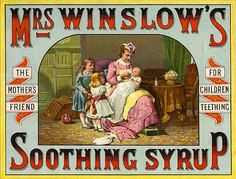 Gorgeous Vintage Advertisements for Heroin ! Geez Heroin for a baby amazing we are all still here