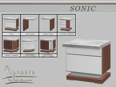NynaeveDesign's Sonic Counter Island