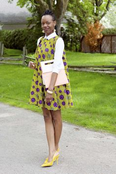 Look at this Gorgeous modern african fashion African Print Dresses, African Wear, African Attire, African Fashion Dresses, African Women, African Dress, Ankara Dress, African Prints, Ghanaian Fashion