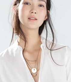 """""""UNTITLED JEWELS"""" COLLECTION COIN NECKLACE-Jewellery-Accessories-WOMAN 