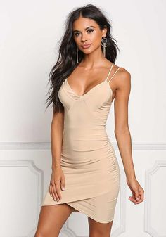 Party dresses > Luminescence Mesh Dress in Rose Gold Sexy Dresses, Tight Dresses, Nice Dresses, Fashion Dresses, Formal Dresses, Party Dresses, Nude Outfits, Dress Outfits, Going Out Shirts