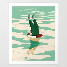 When helping goes bad #art #artwork #poster #print #rescue #gallery