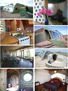 Earthship home design - I like some aspects of these Earthships still not sure exactly what they are though