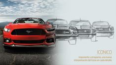 Nuevo Ford Mustang, Ford Mustang 2016, Car, Automobile, Autos, Cars