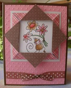 Changito Folded Frame by Susie B - Cards and Paper Crafts at Splitcoaststampers. Y