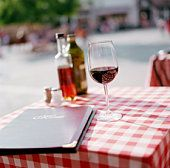 "Go there for the ""vino rosso""."