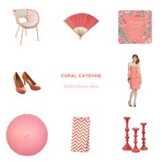 Color Obsession: Coral Cayenne — Showerbelle | Host a Happy Bridal Shower