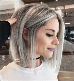 20 top legend ladies hairstyles for 2019 2020 hairstyles ladies legend longpromdresses shorthair 591 Blonde Highlights Bob Haircut, Ash Blonde Hair, Bob With Highlights, Thick Blonde Highlights, Blond Bob, Long Bob Blonde, Platinum Highlights, Gray Hair, Choppy Bob Hairstyles