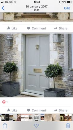 Garage Doors, New Homes, Outdoor Decor, House, Home Decor, Decoration Home, Home, Room Decor, Haus