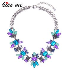 Like and Share if you want this  Crystal Flower Pendants Statement Necklace Women's Accesories     Tag a friend who would love this!     FREE Shipping Worldwide | Brunei's largest e-commerce site.    Buy one here---> https://mybruneistore.com/luxury-created-crystal-flower-pendants-statement-necklace-kiss-me-fashion-jewelry-women-accessories/