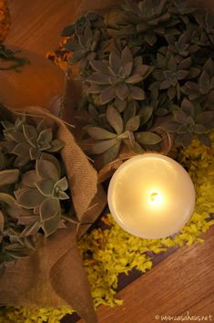 Gorgeous fall table setting / Hermosa mesa de fiesta otoñal | Casa Haus