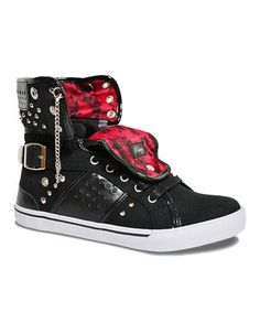 Look what I found on #zulily! Rocker Pinwheel Hi-Top Sneaker by Pastry #zulilyfinds