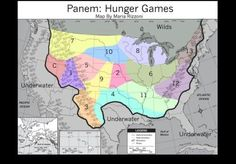 hunger games  trurhs\ | Fan Made Hunger Games Panem Map (#3rd Best Researched?) Future America ...