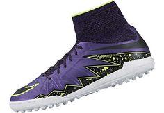Nike Kids HypervenomX Proximo Turf Shoes - Hyper Grape