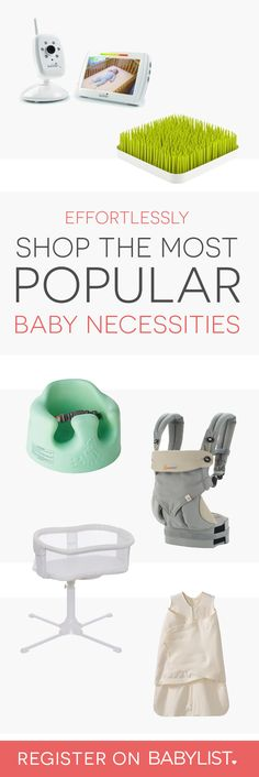 Baby Gear Essentials You can add anything to your baby registry with Babylist. Literally anything - even Etsy items, baby sitting, or home-cooked meals! It's easy, beautiful & free. Baby Needs List, Baby List, Baby Sitting, Lila Baby, Best Baby Registry, Baby Necessities, Newborn Essentials, Baby Registry Essentials, Newborn Needs