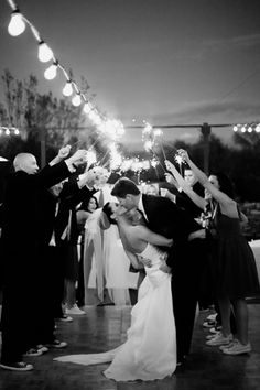 Wedding Sparklers // Gabriela Lim Photography