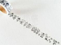 Q-Lia ChimaChimas 造型紙膠帶 - 歐吉桑 ( 91477 )