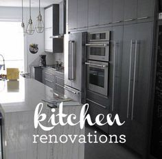 Renovations by Aaron Sherwood, affordable home & condo renovations by experienced professionals. Serving Toronto & the GTA. Kitchen Cabinets, Kitchen Appliances, Kitchen Renovations, French Door Refrigerator, Toronto, House, Home Decor, Diy Kitchen Appliances, Home Appliances