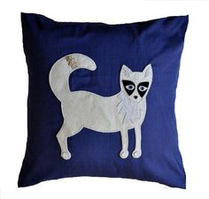 Arctic Fox Cushion