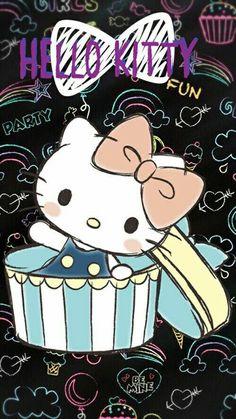 Hello Kitty House, Hello Kitty Art, Hello Kitty Themes, Hello Kitty Pictures, Hello Kitty Backgrounds, Hello Kitty Wallpaper, Little Twin Stars, Sanrio Wallpaper, Mickey Mouse Cartoon