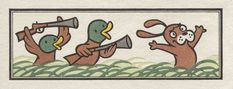 Chibi Heroes, Pair #7: Ducks on the Hunt