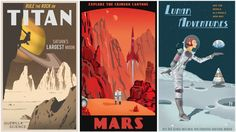 Rewards include space souvenir postcards and posters designed by Steve Thomas. A note from Mars or a visual snapshot of Titan (in infrared, of course) is the perfect 'hello' to send back to family and friends.