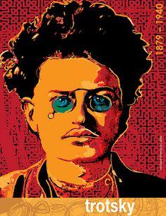 Leon Trotsky by freestylee Persepolis Book, Michael Thompson, Lost Art, Graphic Design Posters, Concert Posters, Revolutionaries, Unique Art, Cover Art, Album Covers