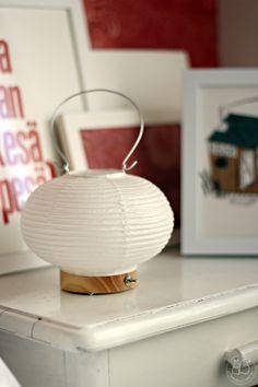 Oravankesäpesä: PAPERILYHTYVALAISIN.   LED light design Rina Ono