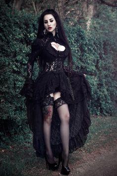 Model: Eleine  Gothic and Amazing |