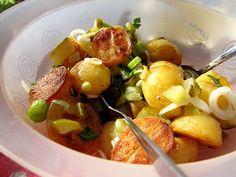 Kääpiölinnan köökissä: Make Them Fry - salaatti paistetuista uusista perunoista