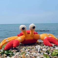 Karoline the Crab amigurumi crochet pattern