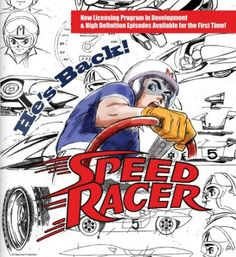 """Speed Racer"" Gears Up For New Series http://www.comicbookresources.com/article/speed-racer-gears-up-for-new-series?utm_content=buffer48382&utm_medium=social&utm_source=pinterest.com&utm_campaign=buffer #tv Comic Book Resources"