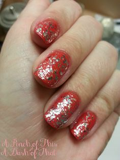 Essie e-nuf is e-nuf topped with Essie Luxeffects set in stones