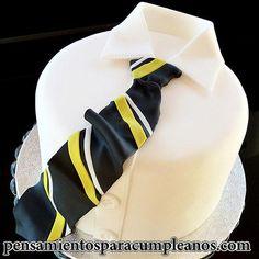 imagenes de tortas de cumpleaños para hombres con corbata