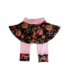 Tumble 'n Twirl Skirtted Monkey Leggings with many by HapasMamas, $23.50