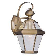 Livex Georgetown 2161-01 Outdoor Wall Lantern - 2161-01