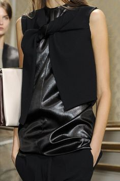 Celine SS13. Not sure on the style but I definitely have a thing for black leather atm!