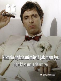Nikt nie będzie mi mówił, jak mam żyć, bo nikt za mnie nie umrze.  www.wielkicytat.pl