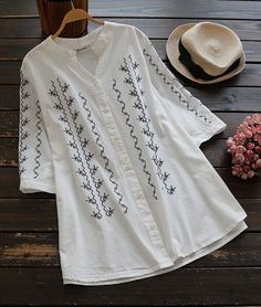 When the look is fire,the love is free. Go and catch it, Only $18.99! It features Embroidered craft & Casual style. You're ready for anything that might come your way on a Sunday.  Have a look and Hit more fashion pieces at Cupshe.com !