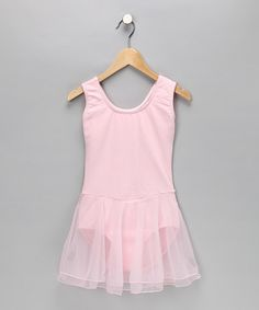Take a look at this Pink Skirted Leotard - Toddler & Girls by Eurotard on #zulily today!