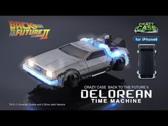 CRAZY CASE BACK TO THE FUTURE II DELOREAN TIME MACHINE(クレイジーケース デロリアン)【iPhone6対応】 | プレミアムバンダイ | バンダイ公式通販サイト