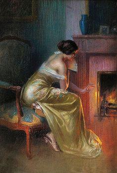 Delphin Enjolras - The Fireplace