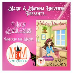 They say opposites attract but can complete polar opposite attract?  Anything is possible in the town of Assjacket W.V. Get Holiday Vacation by Amy Gregory TODAY! #MagicMayhemUniverse #NewRelease #ebook #pnr #UnleashTheMagic