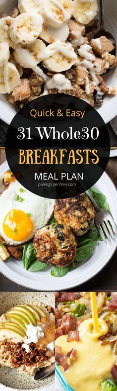 Whole 30. #healthydietrecipesbreakfast