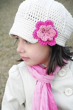 Anna Cap Crochet Hat Pattern (Permission to sell all finished products)