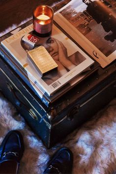 Into The Gloss Editor Brennan Kilbane On Men's Makeup Small Space Living, Living Spaces, Suitcase Decor, Best Interior, Interior Design, Tumblr Rooms, Male Makeup, I Cool, Fashion Room